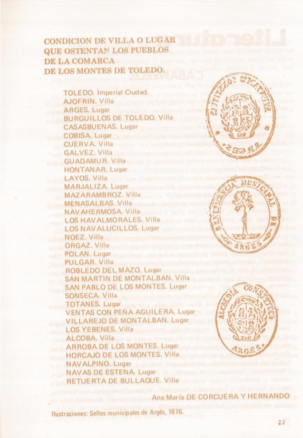 sellos municipales