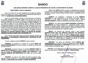 BANDO TENENCIA ANIMALES
