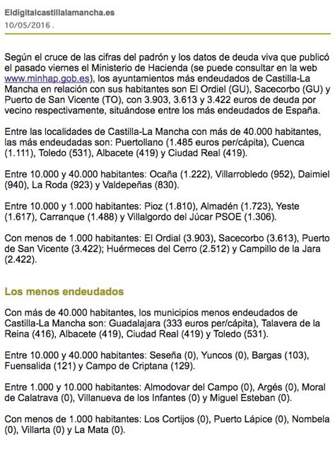 Deuda viva entidades locales 2015 ayuntamiento de arg s - Oficina virtual entidades locales ...