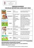 CAPTURA ESCUELAS DEPORTIVAS