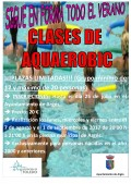 Cartel Aquaerobic 2017