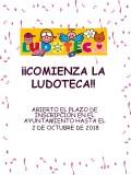 2018 INICIO LUDOTECA